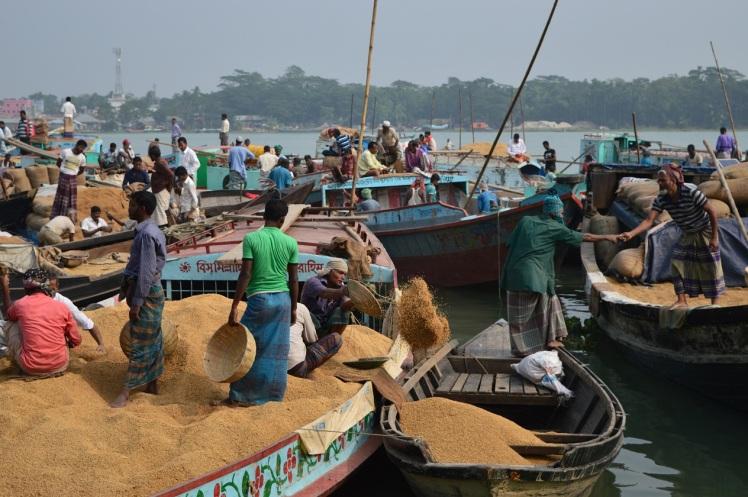 Rice Market en Banaripara