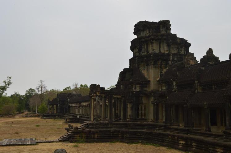 Entrada al Angkor Wat